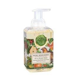 Michel Design Works In A Pear Tree Foaming Soap