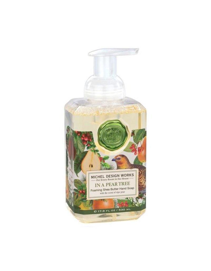 Michel Design Works In A Pear Tree Foaming Soap