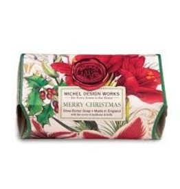 Michel Design Works Merry Christmas Large Bath Soap Bar