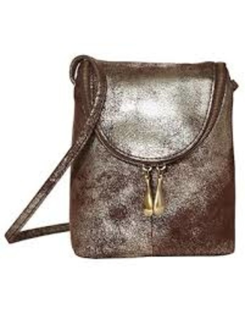 Hobo Bags Fern - Metallic Hide