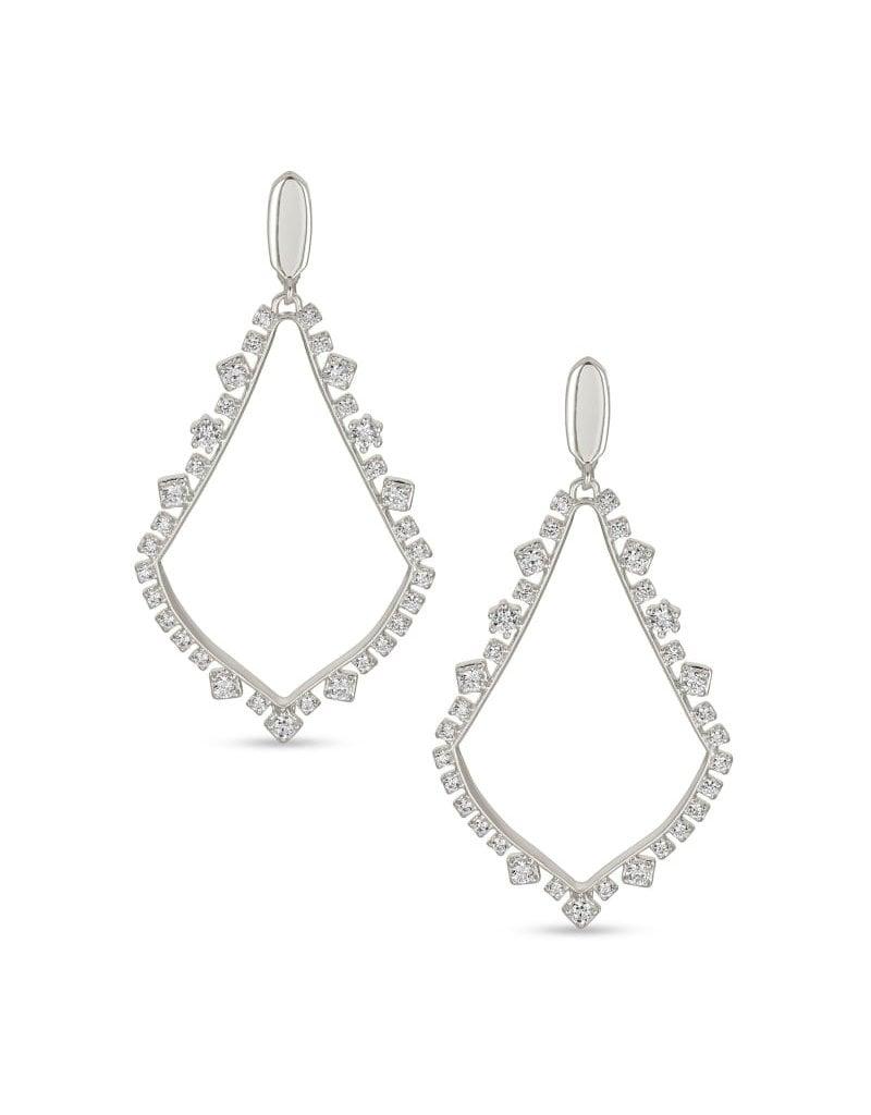 Kendra Scott Sophee Crystal Drop Earring - Clip On