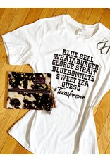 Midwest Tees Texas Forever George Strait - White