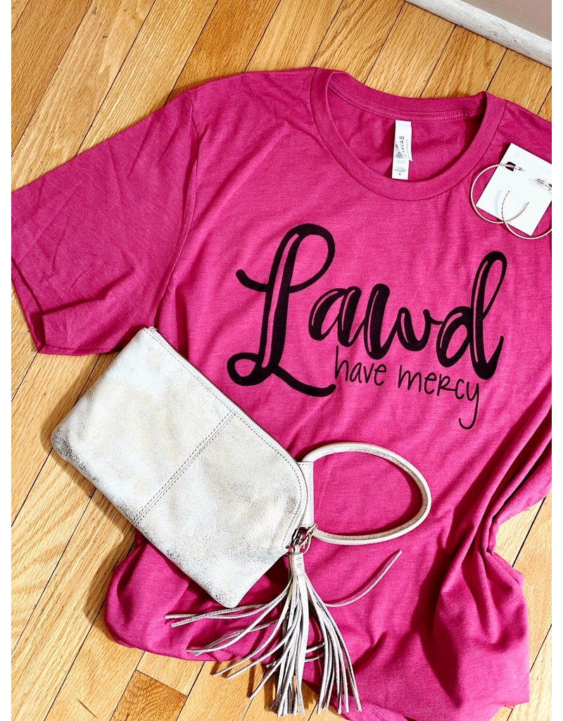 Midwest Tees Lawd Have Mercy - Pink