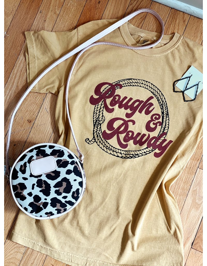 Midwest Tees Rough & Rowdy - Mustard
