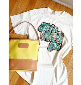 Midwest Tees Just A Small Town Girl Tee
