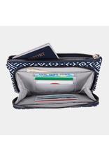 Travelon RFID Blocking Phone Clutch Wallet Mosaic Tile