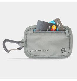 Travelon RFID Blocking Clip Stash Pouch Gray