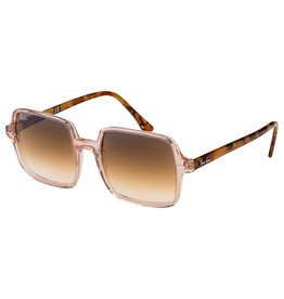 Ray Ban Square II Transparent Light Brown w/ Clear Gradien