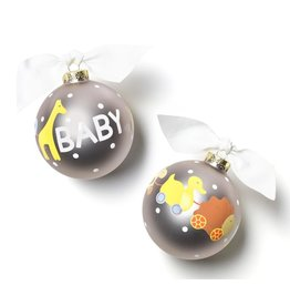 Coton Colors Baby Toy Glass Ornament