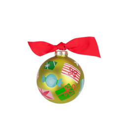 Coton Colors Wrapped Gifts Ornament