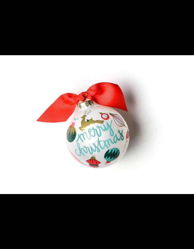 Coton Colors Vintage Ornaments Glass Ornament