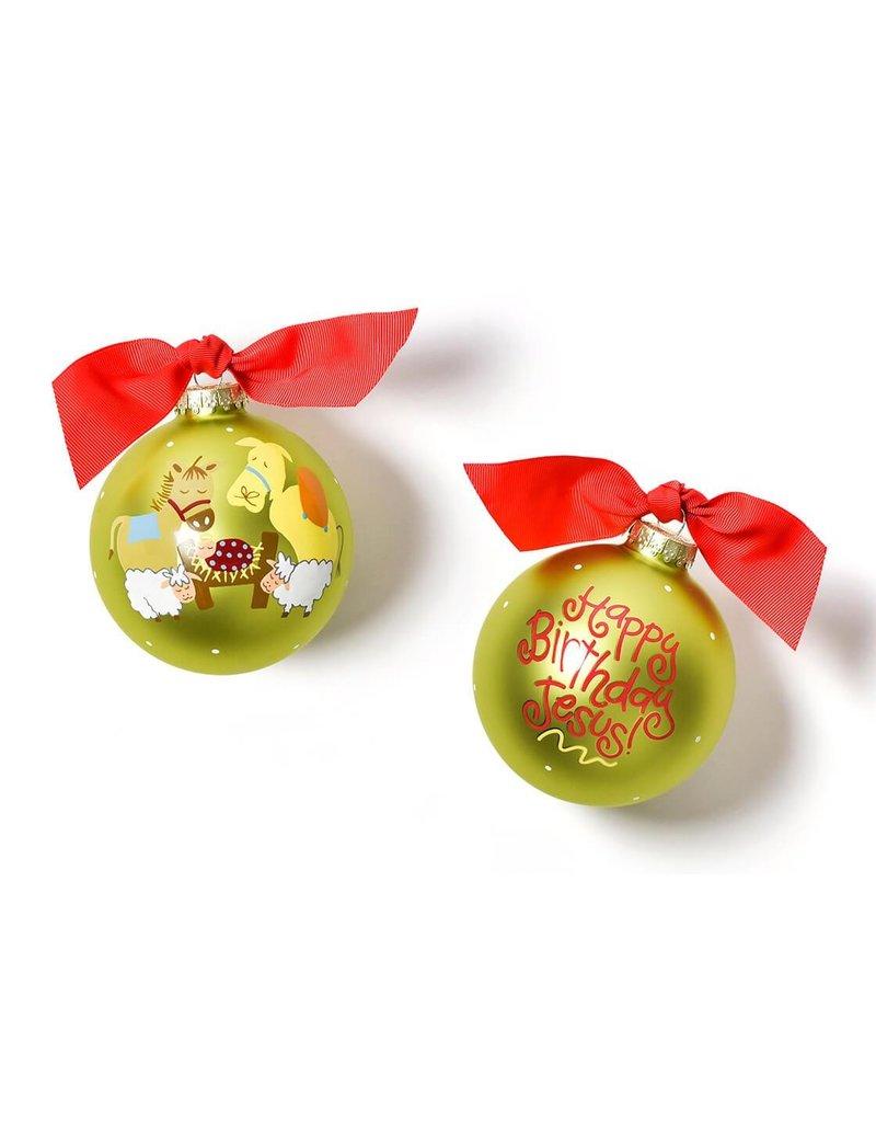 Coton Colors Happy Birthday Jesus Ornament