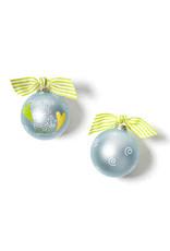 Coton Colors For this Child Blue Ornament