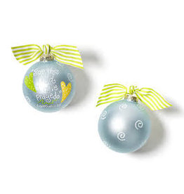 Coton Colors For this Child Blue Ornament