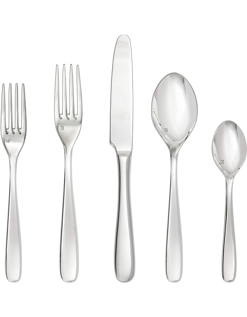 Fortessa Grand City 5PC PS Stainless Steel Flatware