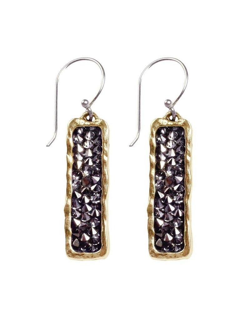 Waxing Poetic Kristal Verve Earrings - Dark