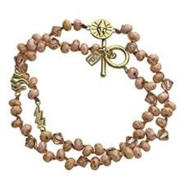 Waxing Poetic Kosmou Wrap Bracelet - Passion RETIRED