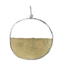 Waxing Poetic Vista Pendant BR/SS
