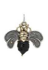 Waxing Poetic Bee Brave Pendant Black