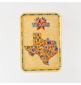 One Hundred 80 Degrees Texas Tray Melamine