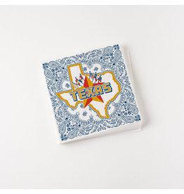One Hundred 80 Degrees Texas Napkin