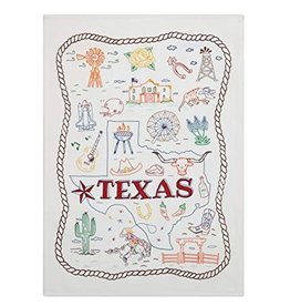 Peking Handicraft Texas Kitchen Towel