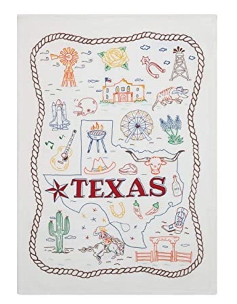 Peking Handicraft Texas Kitchen Towel