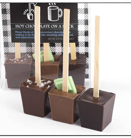 Ticket Chocolate Hot Chocolate on a Stick - 3 Pack