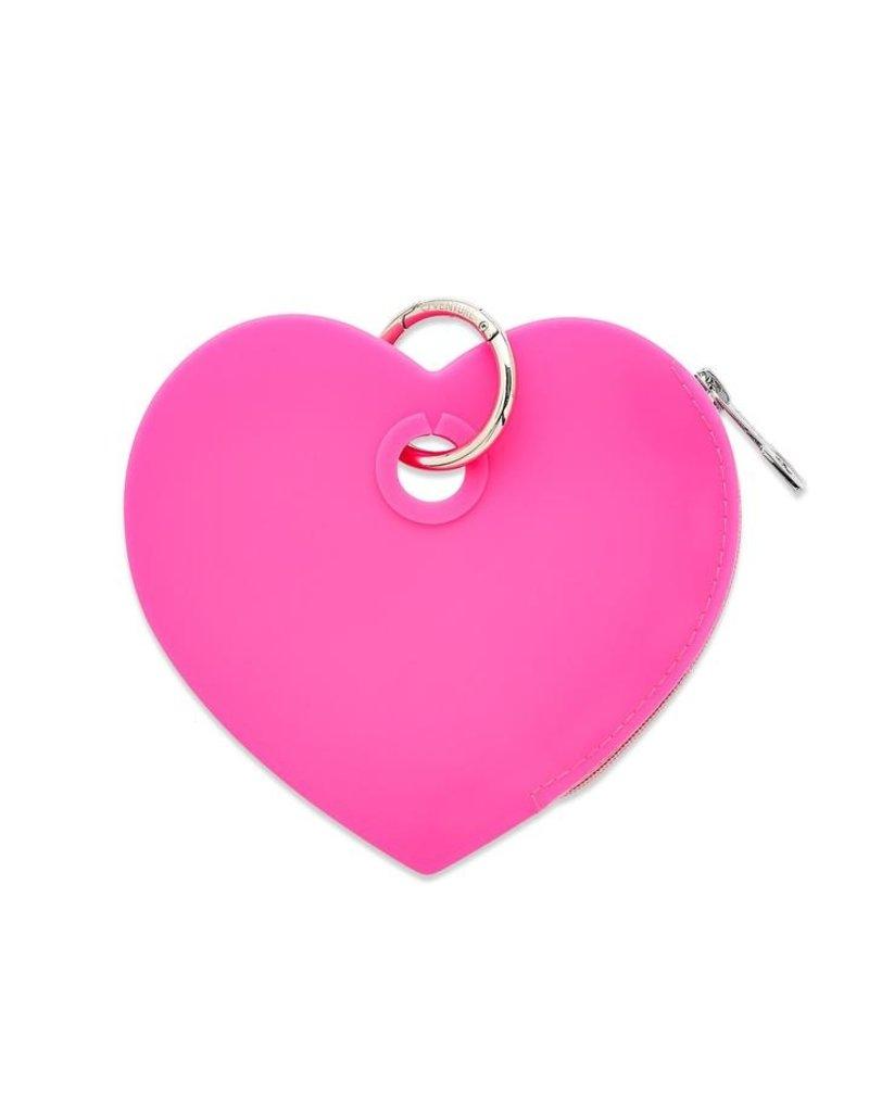 O-Venture Heart Silicone Pouch - Solid