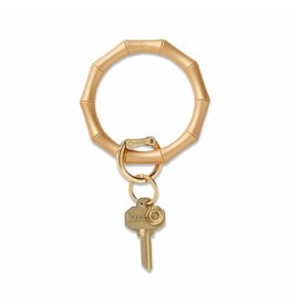 O-Venture Big O Key Ring - Silicone Bamboo