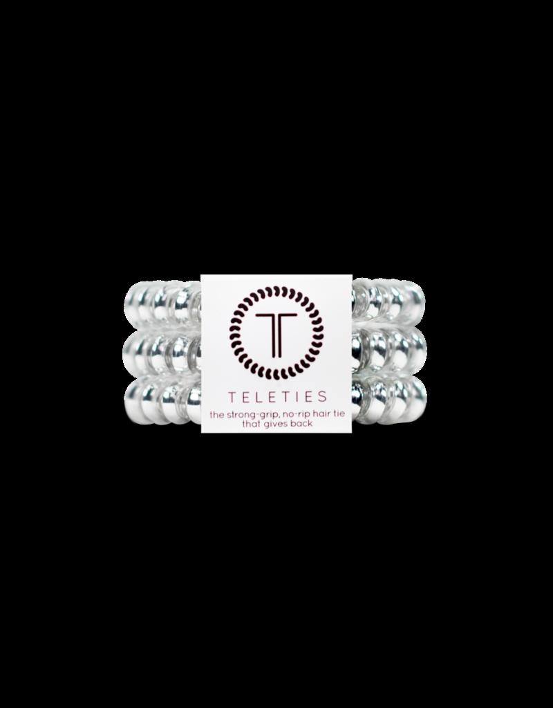 Teleties Large Teleties- Metallic/Iridescent - 3 Pack Hair Coils