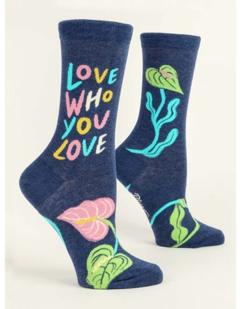 Blue Q Socks: Love Who You Love Crew