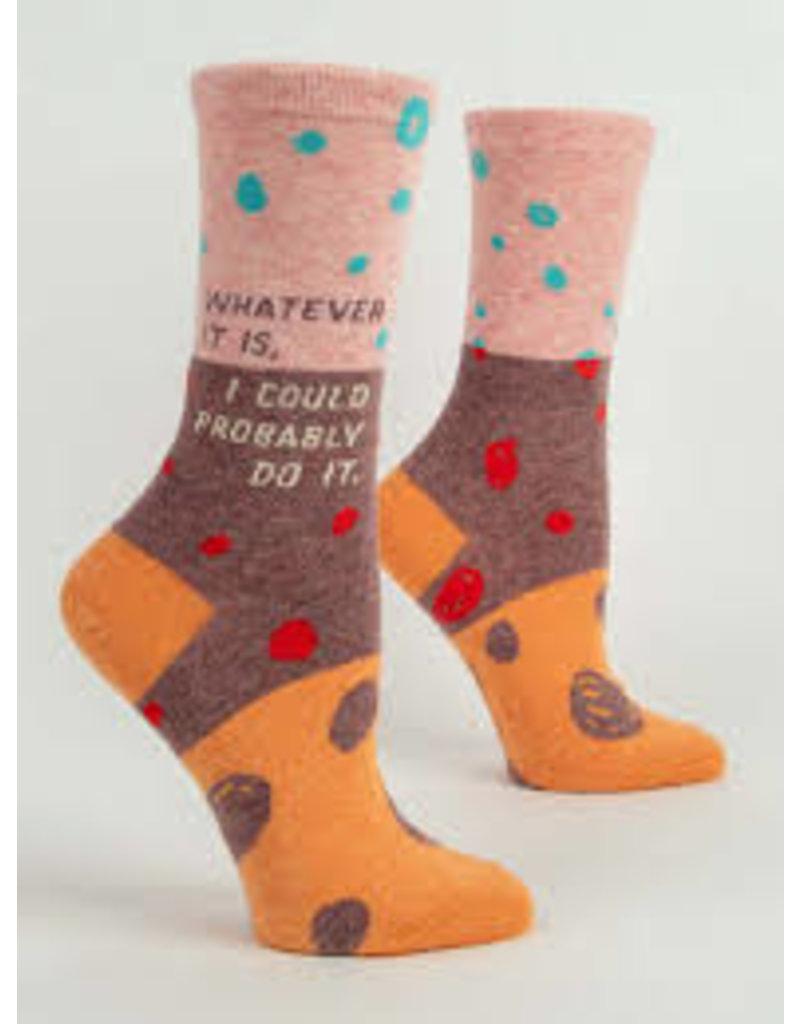 Blue Q Socks: Whatever It Is Crew