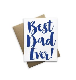 Tiramisu Paperie Best Dad Ever Notecard