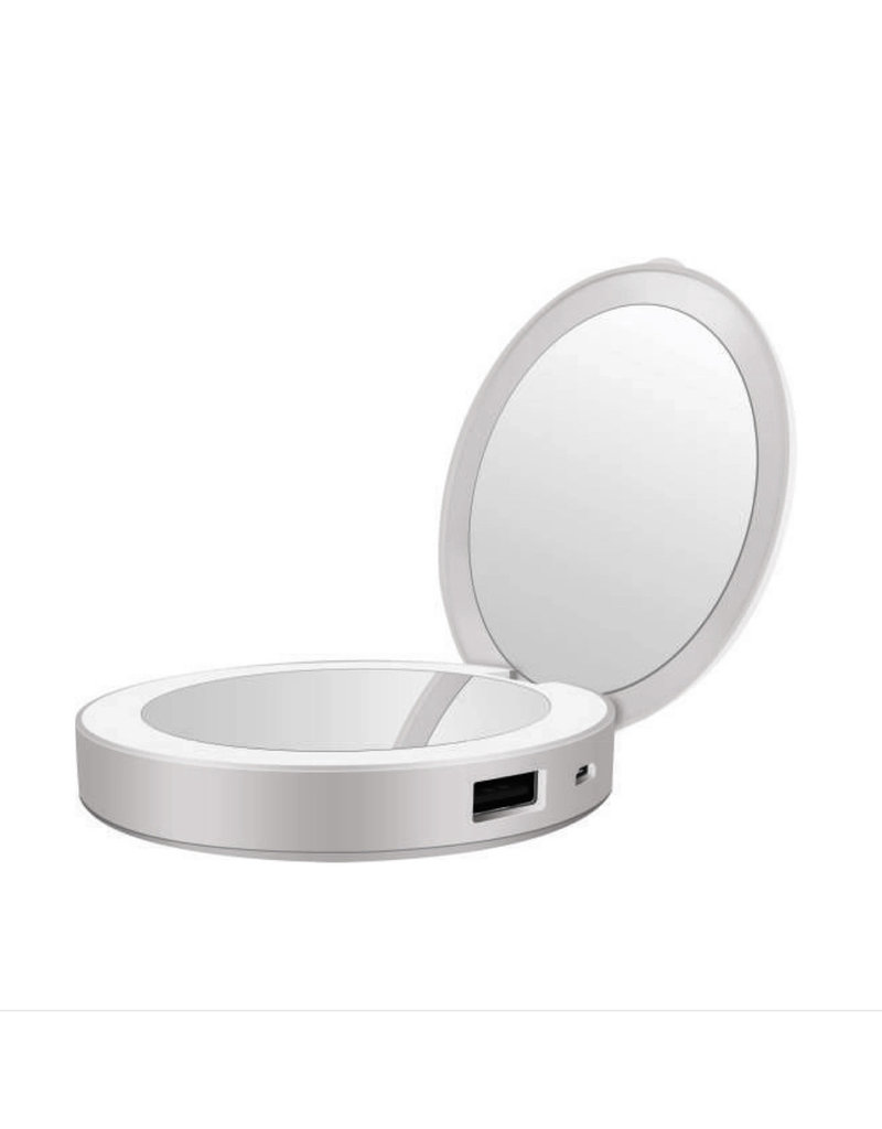 Tech Candy Glow Up - Power Bank/Lighted Mirror