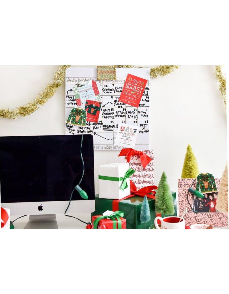"""Coton Colors 18"""" Dry Erase Wall Calendar"""