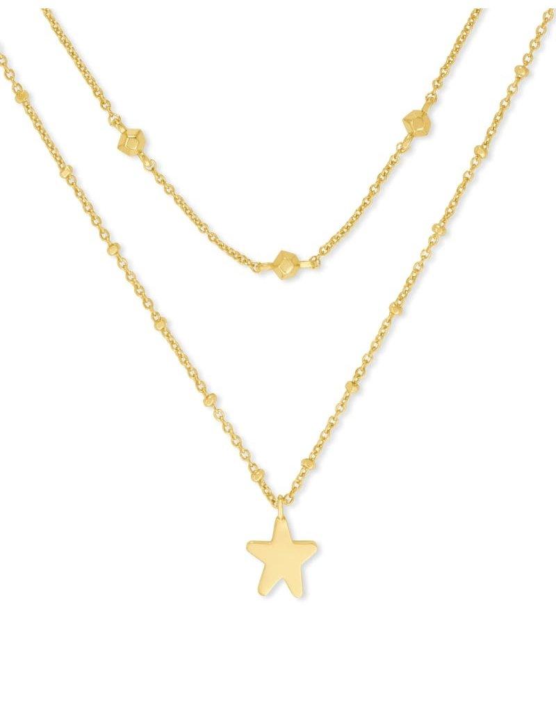 Kendra Scott Jae Star Multi Strand Necklace
