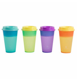 Core Home Set of 4 Color Changing Hot Cups