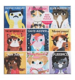 Chronicle Books Music Cats 500pc Puzzle