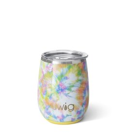 Swig Swig 14oz Stemless Wine Cup - You Glow Girl