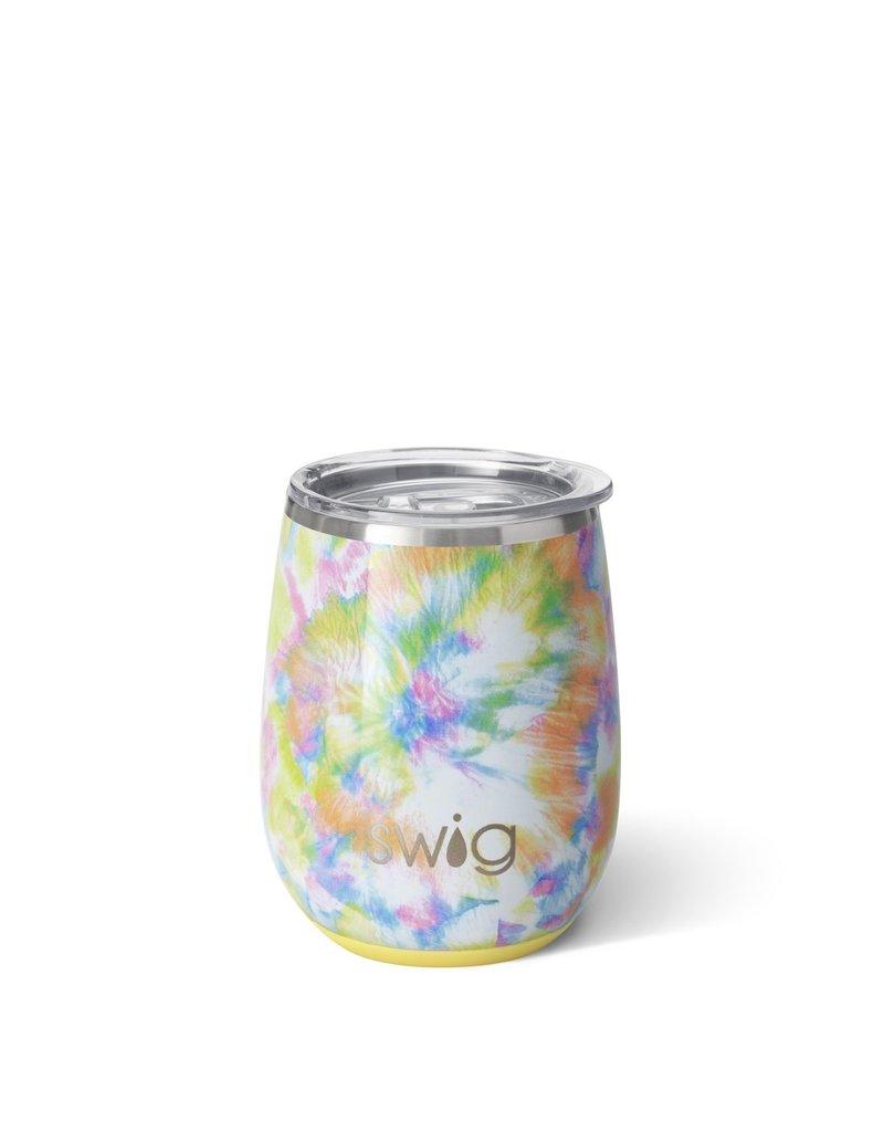 Swig Swig 14oz Stemless Wine Cup - You Glow Girl