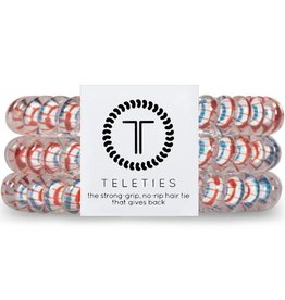 Teleties Small Teleties - Americana Colletion - 3 Pack Hair Coils