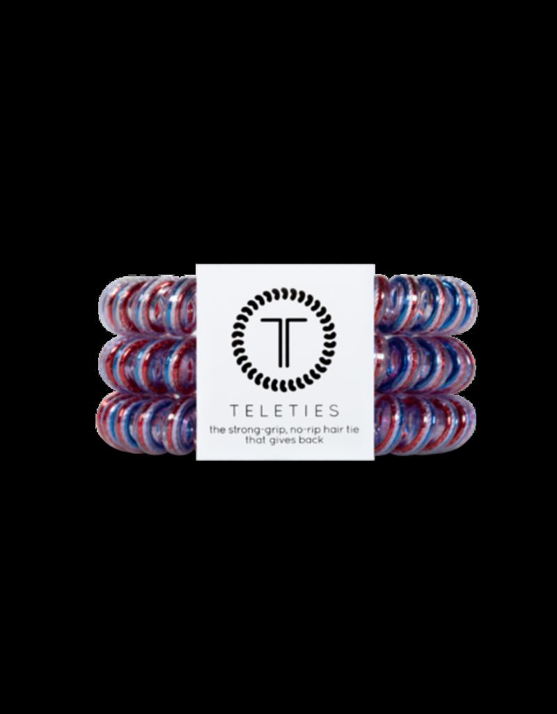 Teleties Large Teleties - Americana Colletion - 3 Pack Hair Coils