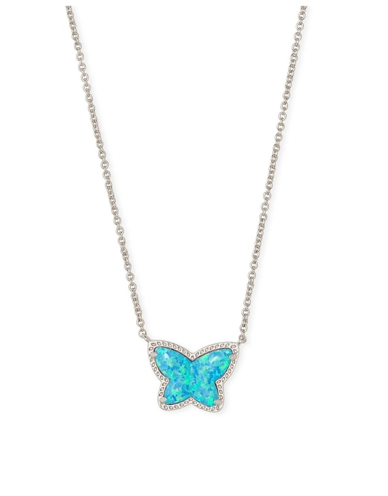 Kendra Scott Lillia Butterfly Necklace - Opal