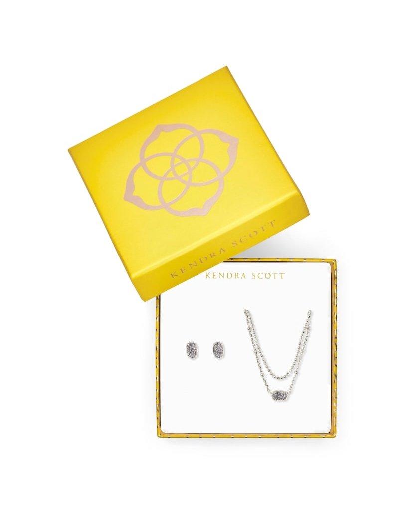 Kendra Scott Gift Set Emilie Necklace/Stud