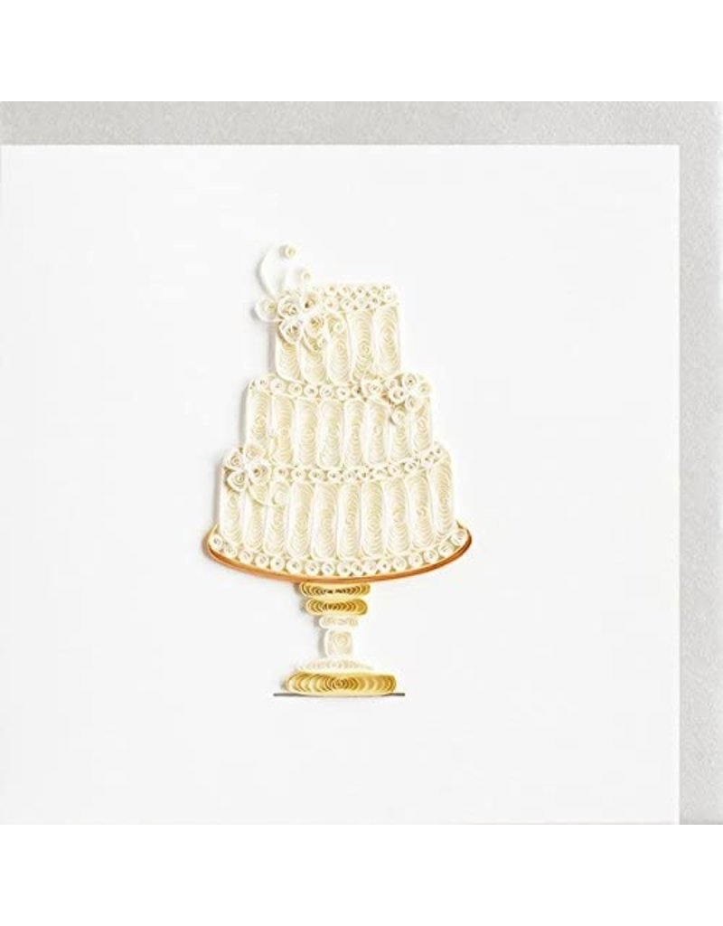 Quilling Cards Wedding Cake