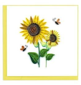 Quilling Cards Sunflower
