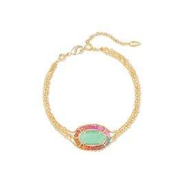 Kendra Scott Threaded Elaina Multi Strand Bracelet -