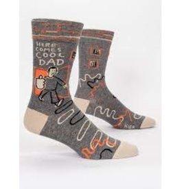 Blue Q Socks: Here Comes Cool Dad