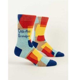 Blue Q Socks: Cool-Ass Grandpa  Men's